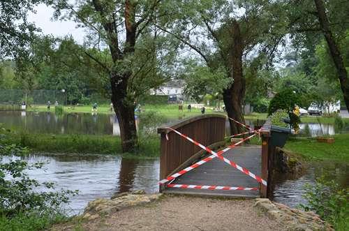 Crues exceptionnelles dans la commune mai-juin 2016