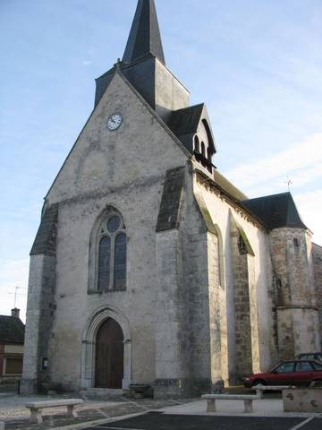 Vernou eglise nd